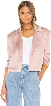 Jain Blazer in Blush. - size L (also in XXS,S,M,XL)