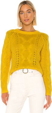 Cyndi Sweater in Yellow. - size XS (also in S,M)