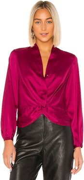 Shera Blouse in Pink. - size XS (also in S)