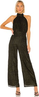 x REVOLVE Sana Jumpsuit in Black. - size XS (also in S,XXS)