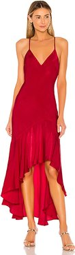 x REVOLVE Mirna Dress in Red. - size XL (also in XS)