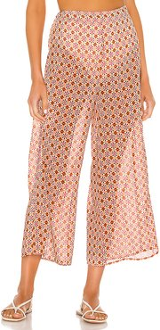 x REVOLVE Farouk Pant in Orange. - size L (also in M,S,XL,XS,XXS)