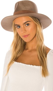 Alara Hat in Brown. - size S (also in M)