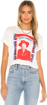 Electric Ladyland Tee in White. - size XS (also in S,M,L)