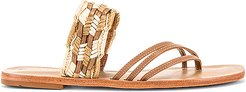 Campos Thong Sandal in Tan. - size 10 (also in 8)