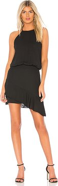 Halter High Low Mini Dress in Black. - size XS (also in M)