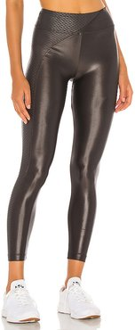 Chase High Rise Infinity Legging in Charcoal. - size M (also in XS,S,L)