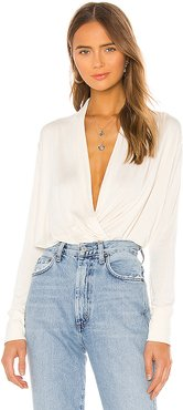 Victorie Top in Ivory. - size M (also in XS,S)