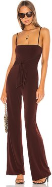 Emi Jumpsuit in Brown. - size L (also in M,XL)