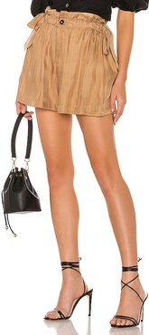 The Marlene Short in Brown. - size M (also in S,XS,XXS)