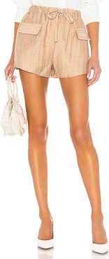 The Ivet Short in Nude. - size XXS (also in L,M,S,XL,XS)