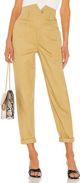 The Voletta Pant in Tan. - size XL (also in XXS)