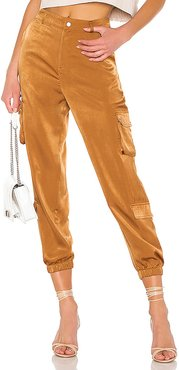 Kelis Pants in Brown. - size XS (also in L)