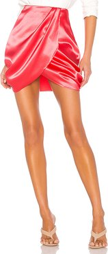 The Jenny Mini Skirt in Pink. - size L (also in M)