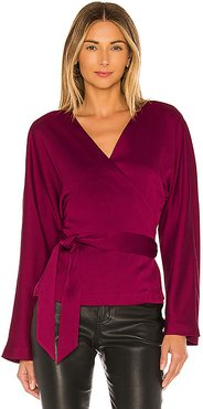 The Bonnie Top in Wine. - size M (also in S,XS,XXS)