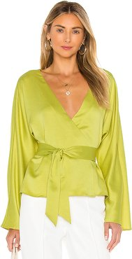 The Bonnie Top in Green. - size S (also in XXS,XS,M)