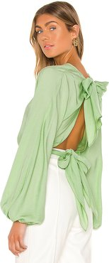 The Dorothei Top in Mint. - size L (also in XXS,XS,S,M)