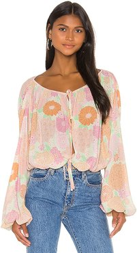 The Alayna Top in Pink. - size S (also in M,XS,XXS)