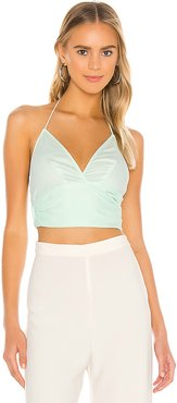 The Orabelle Top in Mint. - size M (also in XXS,XS,S,L,XL)