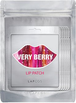 Very Berry Lip Patch 5 Pack in Beauty: NA.