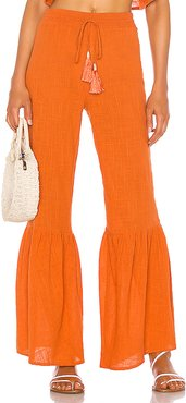 Gails Pant in Orange. - size L (also in XXS,XS,S,M,XL)