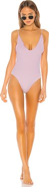 Petal One Piece in Lavender. - size M (also in XS,XXS)