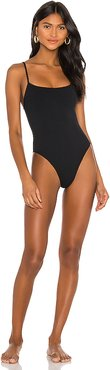 The Viper One Piece in Black. - size XXS (also in L,M,S,XL,XS)