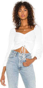 Sweet Thing Top in White. - size M (also in XS,S,L)