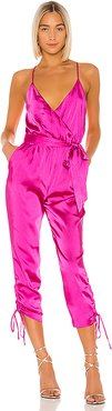 Tony Jumpsuit in Pink. - size XL (also in L)