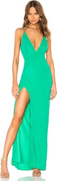 Maddox Gown in Green. - size M (also in L,S,XL,XXS)