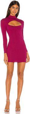 Electra Mini Dress in Purple. - size M (also in S)