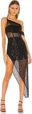 Nina Sequin Gown in Black. - size M (also in L,S,XS)