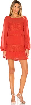 Tao Mini Dress in Red. - size XS (also in XXS)