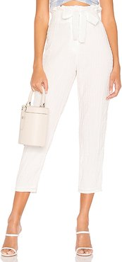 Irving Pant in White. - size XL (also in L)