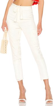 Clarissa Pants in White. - size M (also in L)