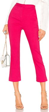 Janice Cropped Pants in Pink. - size L (also in XL)