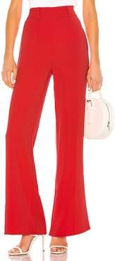 Lowell Pant in Red. - size XXS (also in M,S,XS)