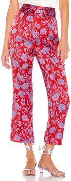 Selma Pant in Red. - size XL (also in XS,S,M)