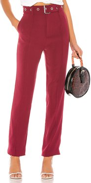 Brees Pant in Red. - size XS (also in XXS,S,M)