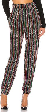 Tammie Pant in Metallic Gold,Red,Blue. - size S (also in M,XS)