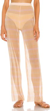 The Lionele Pant in Peach. - size L (also in M,S,XL,XS,XXS)