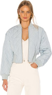 Riley Jacket in Baby Blue. (also in L)