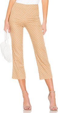 Cropped Pant in Tan. - size M (also in L,S)