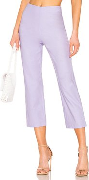 Cropped Pant in Lavender. - size S (also in M)