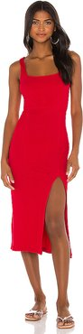 Palm Beach Dress in Red. - size L (also in M,S,XS)