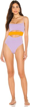 Maxwell Bitsy One Piece in Lavender. - size 10 (also in 4,6,8)