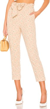 Tristan Crop Pant in Nude. - size XL (also in L,M)