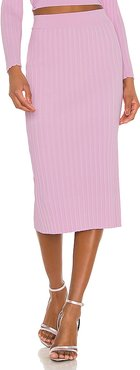 Rib Skirt in Pink. - size M (also in XS,S,L)