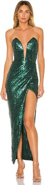 x REVOLVE Jake Gown in Green. - size S (also in L,M,XL,XS)