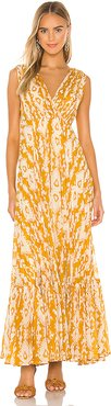 Samarcande Dress in Yellow. - size 38/6 (also in 34/2,36/4,40/8)